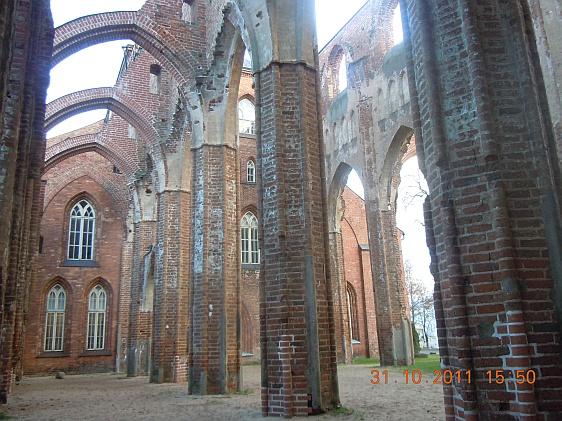 Развалины Тартусского замка