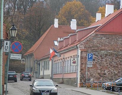 Дома и улицы города Тарту